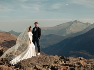 The wedding of Tiche and Mason