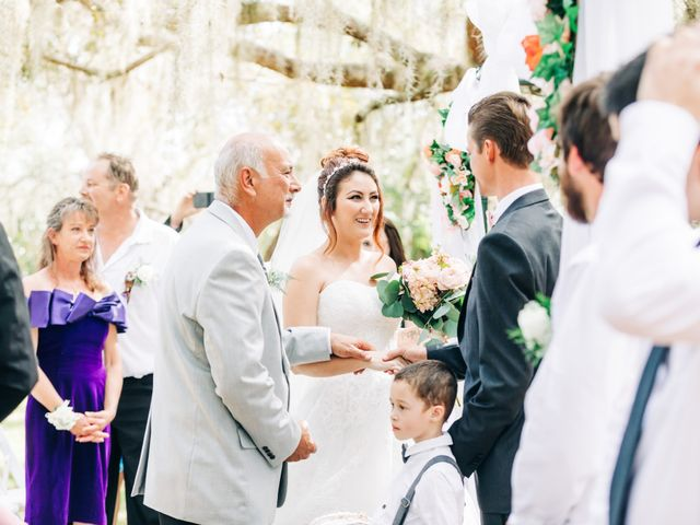Kevin and Janelle's Wedding in Osteen, Florida 1