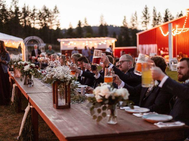 Andrew and Jessica's Wedding in Spokane, Washington 30