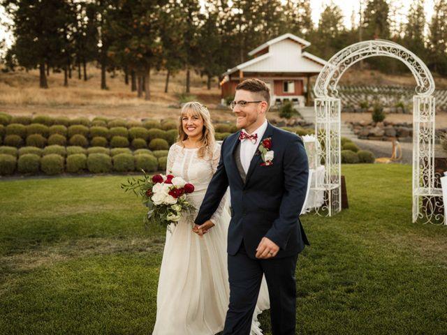 Andrew and Jessica's Wedding in Spokane, Washington 34