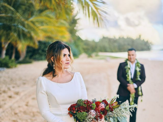 Bella and Larry's Wedding in Hawaii National Park, Hawaii 42