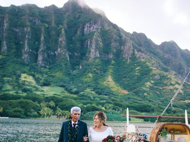 Bella and Larry's Wedding in Hawaii National Park, Hawaii 74