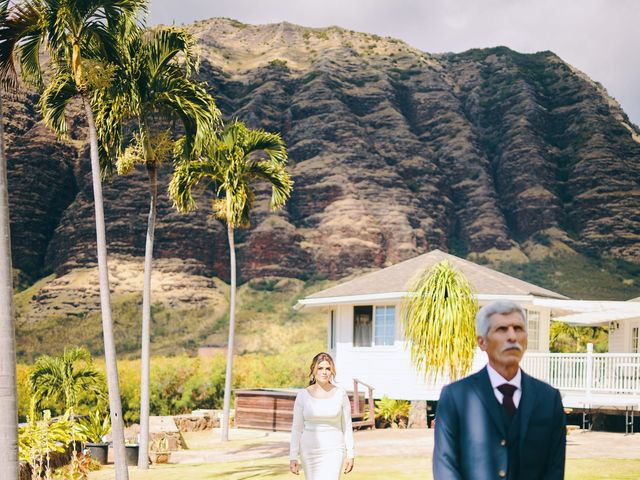 Bella and Larry's Wedding in Hawaii National Park, Hawaii 117