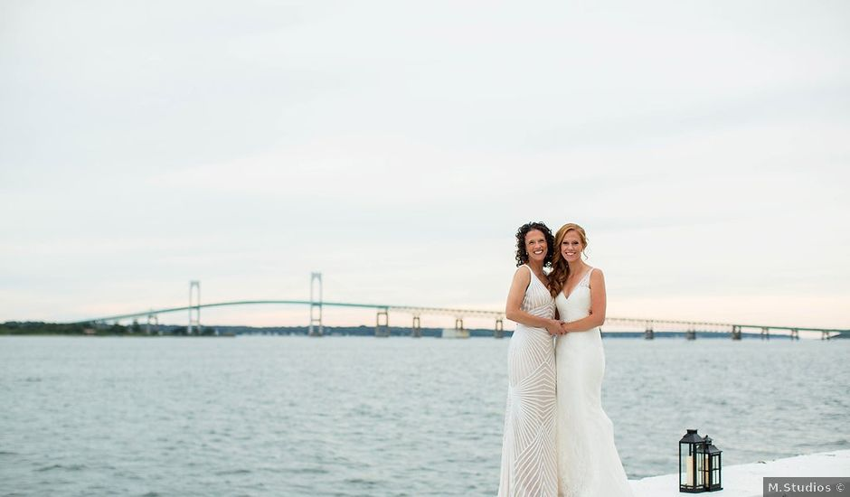 Jessie and Mary's Wedding in Newport, Rhode Island