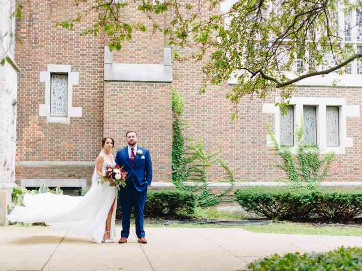 The wedding of Scott and Madison