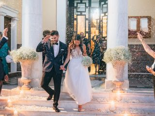 The wedding of Dimitris and Nickie