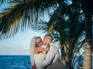 The wedding of Kristin and Thomas