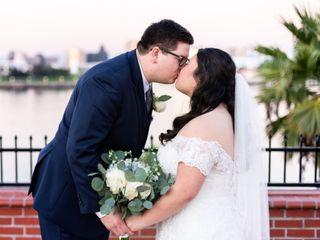 The wedding of Nick and Erika