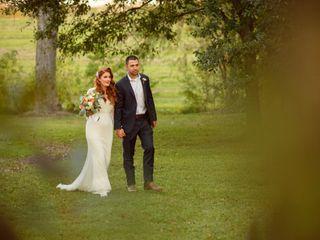 The wedding of Sarah and Evan