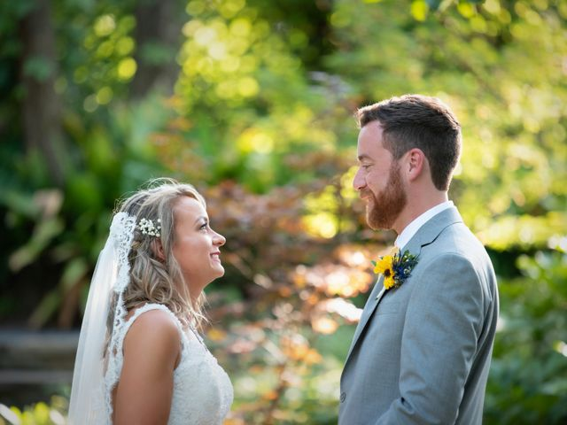 The wedding of David and Aubrey