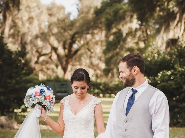Kyle and Tiffany's Wedding in Inverness, Florida 6