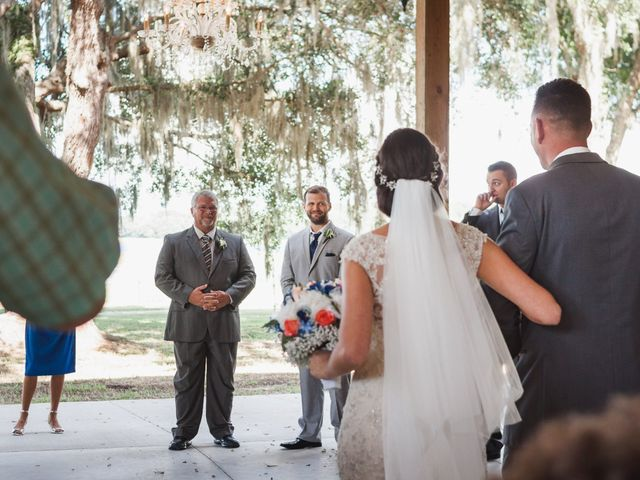 Kyle and Tiffany's Wedding in Inverness, Florida 9