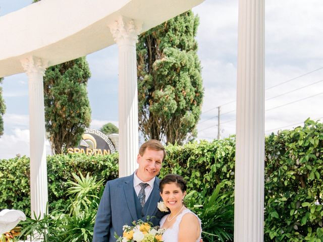 Steve and Georgia's Wedding in New Port Richey, Florida 15