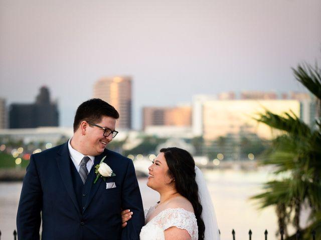 Erika and Nick's Wedding in Long Beach, California 11