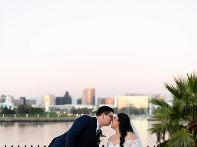 Erika and Nick's Wedding in Long Beach, California 12