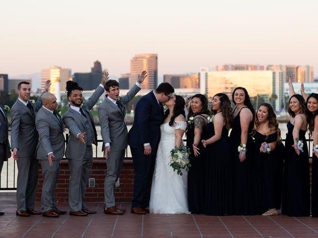 Erika and Nick's Wedding in Long Beach, California 15