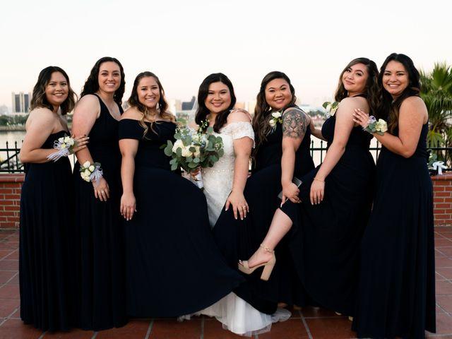 Erika and Nick's Wedding in Long Beach, California 16