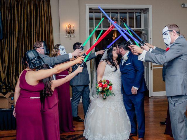 Chad and Ashley's Wedding in Bensalem, Pennsylvania 18