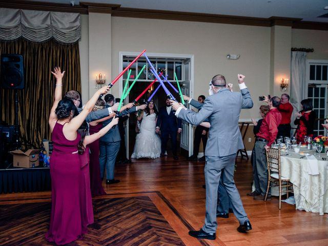 Chad and Ashley's Wedding in Bensalem, Pennsylvania 19