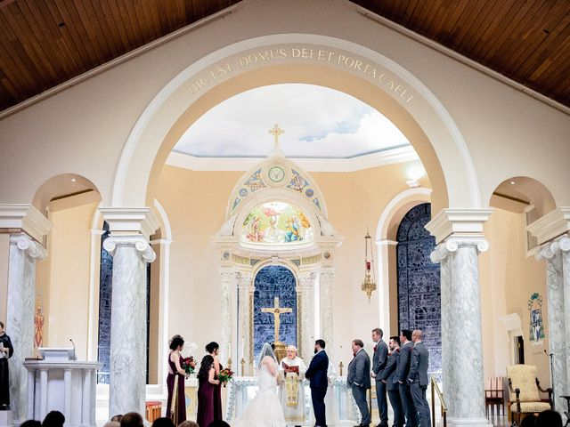 Chad and Ashley's Wedding in Bensalem, Pennsylvania 43