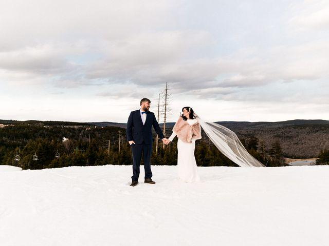 Victoria and Zack's Wedding in Snowshoe, West Virginia 26
