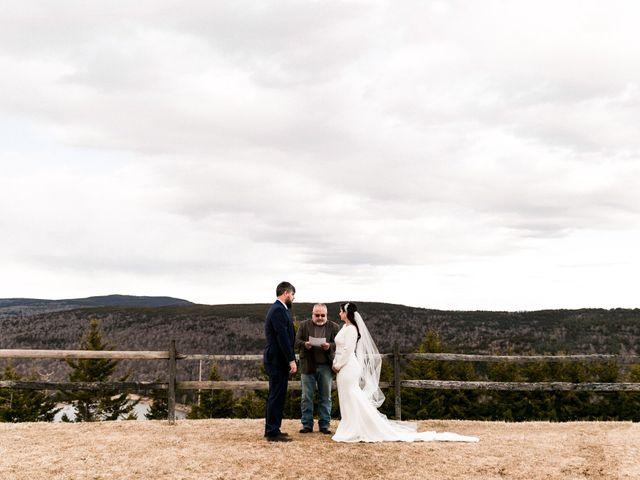 Victoria and Zack's Wedding in Snowshoe, West Virginia 34