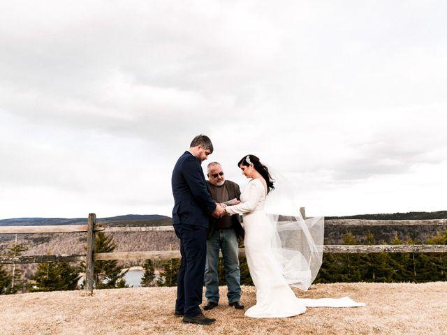 Victoria and Zack's Wedding in Snowshoe, West Virginia 4