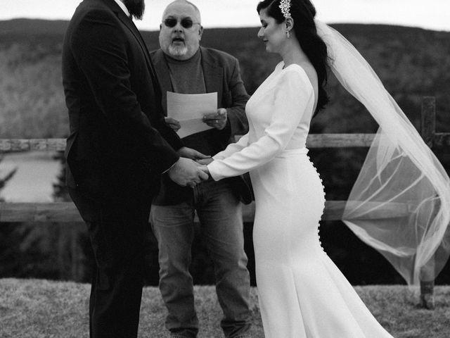 Victoria and Zack's Wedding in Snowshoe, West Virginia 9