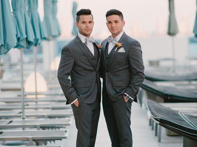 The wedding of Jose and Dyron