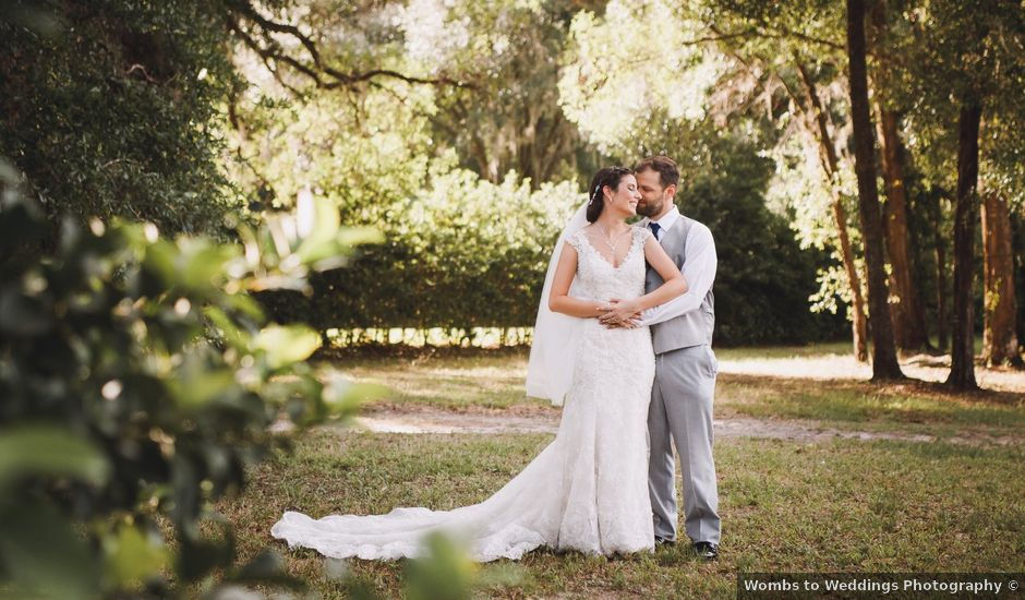 Kyle and Tiffany's Wedding in Inverness, Florida