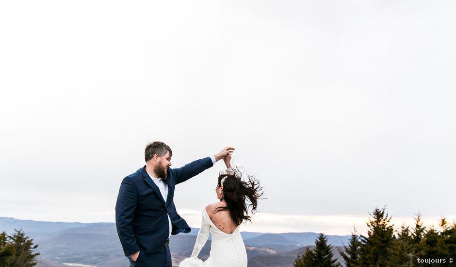 Victoria and Zack's Wedding in Snowshoe, West Virginia