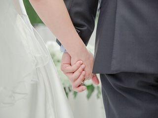 The wedding of Gina and David 1
