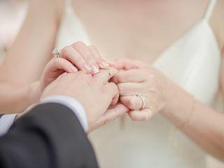 The wedding of Gina and David 2