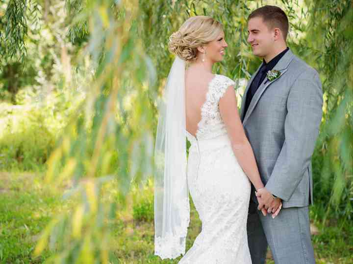 The wedding of Andrew and Alyssa