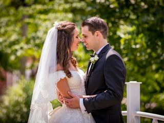 The wedding of Ilona and Stephen