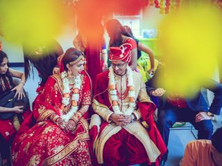 The wedding of Bhoomi and Ritvik