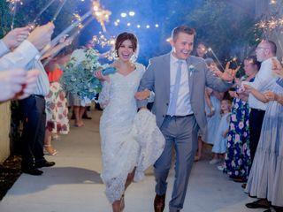 The wedding of Isobel and Garrett 1