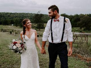 The wedding of Lauren and Robbie