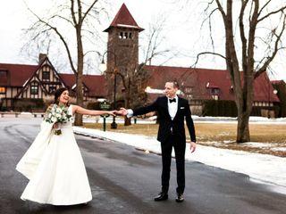 The wedding of Luisa and Matt