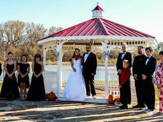 The wedding of Debbie  and Byran  1