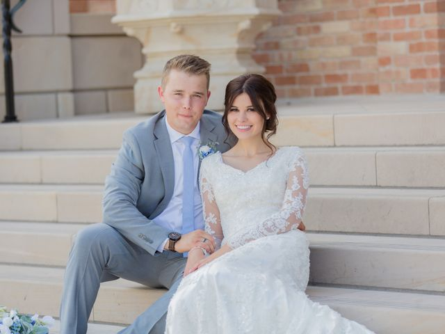 The wedding of Isobel and Garrett