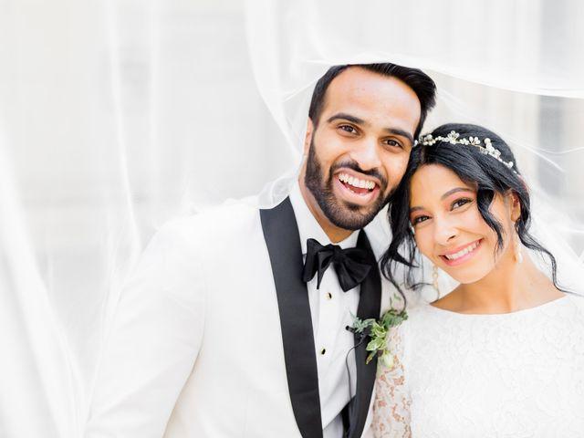 The wedding of Deep and Christina