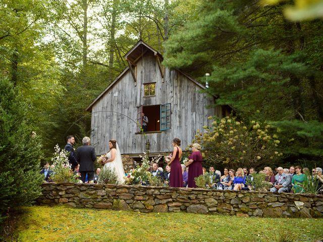 Jacob and Haley's Wedding in Sylva, North Carolina 61