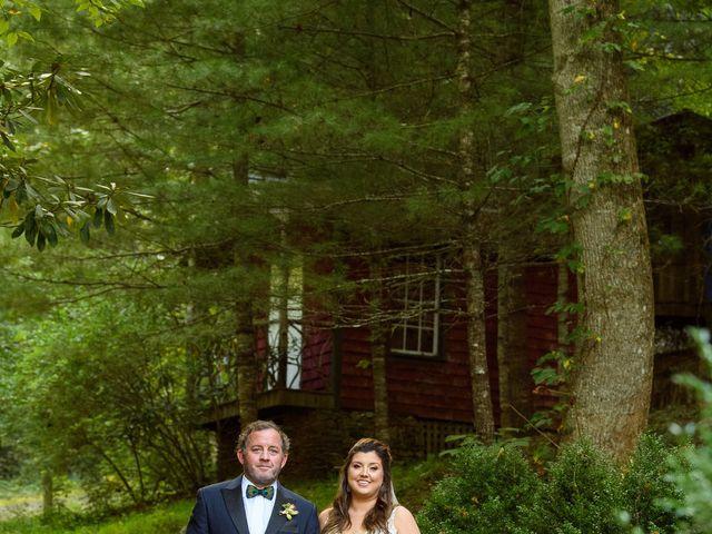 Jacob and Haley's Wedding in Sylva, North Carolina 67