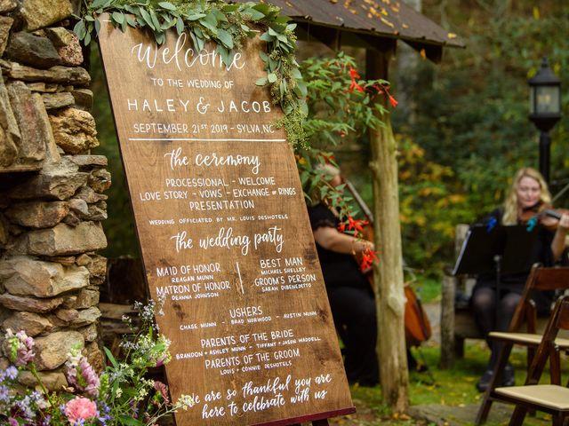 Jacob and Haley's Wedding in Sylva, North Carolina 74