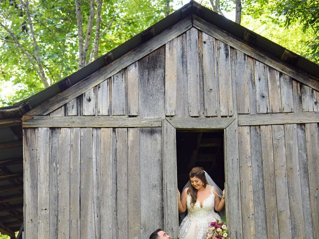 Jacob and Haley's Wedding in Sylva, North Carolina 81