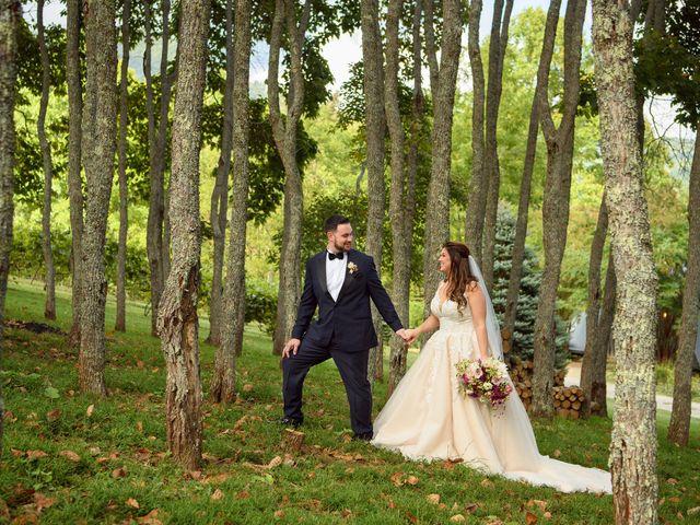 Jacob and Haley's Wedding in Sylva, North Carolina 89