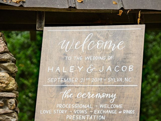 Jacob and Haley's Wedding in Sylva, North Carolina 98