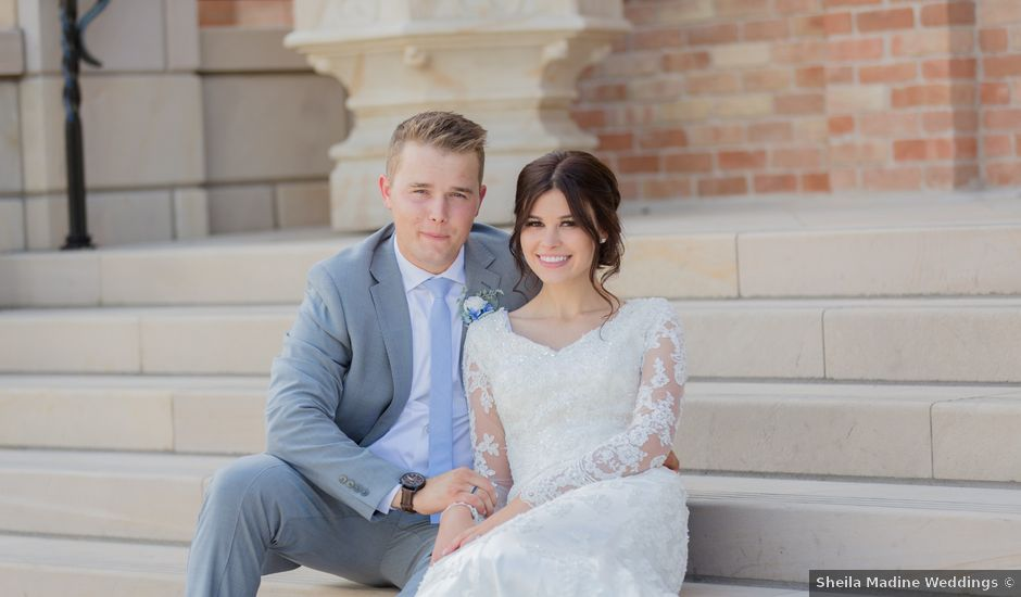 Garrett and Isobel's Wedding in Provo, Utah