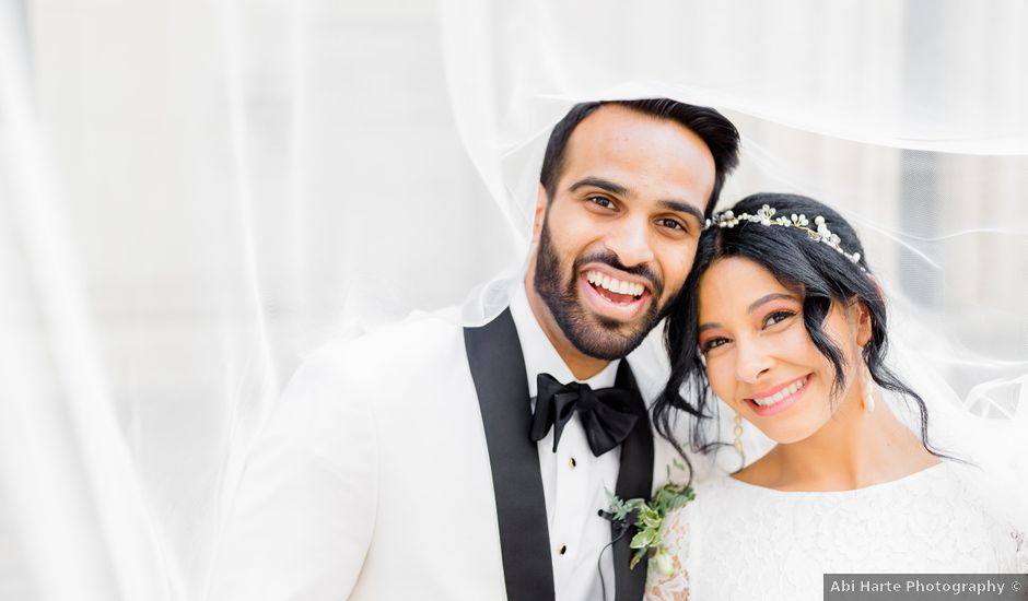 Christina and Deep's Wedding in Baltimore, Maryland